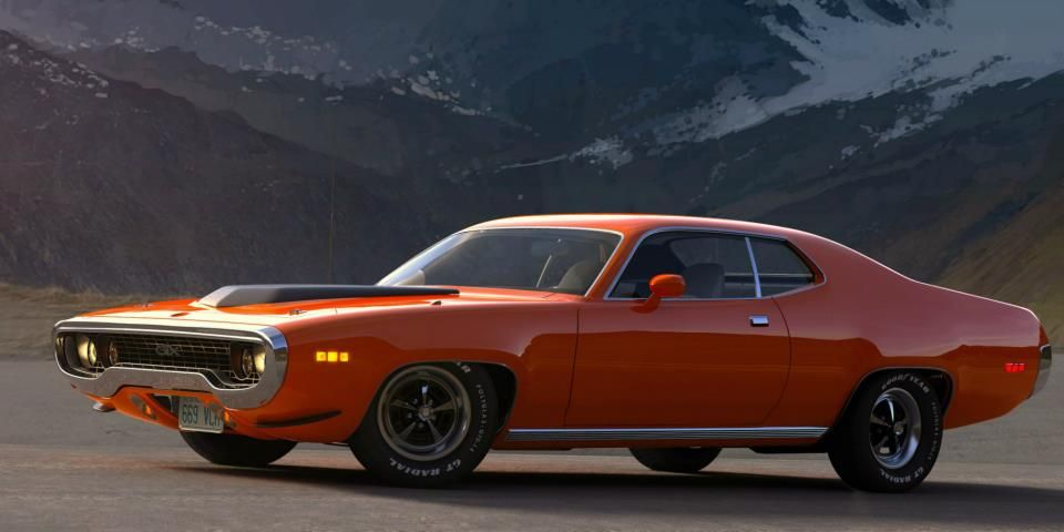 Plymouth Roadrunner Gtx P Old Cars Pinterest Plymouth