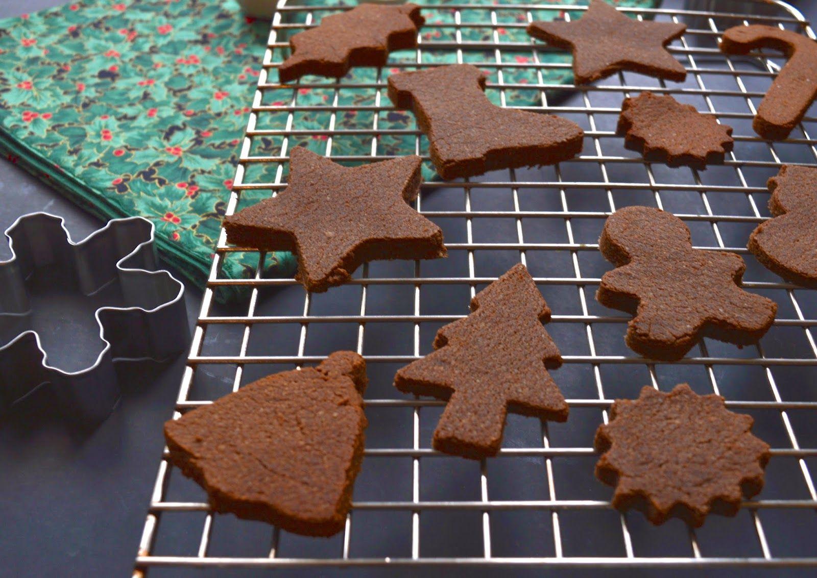 Chocolate Ginger Cookies (Paleo, GAPS, Gluten Free, Egg Free)