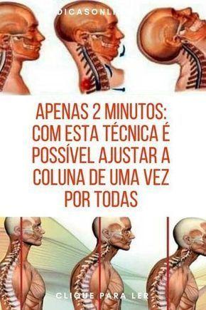 Postura coluna, exercícios para postura | Apenas 2 Minutos: Com Esta Técnica É Possível Ajustar A Co...