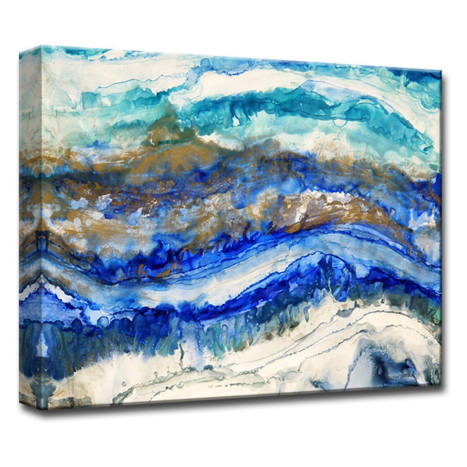 Readyhangart sea jewels canvas wall art nwgwc pinterest