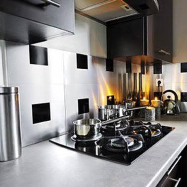 La crédence adhésive le relooking cuisine facile ! - adhesif pour plan de travail cuisine