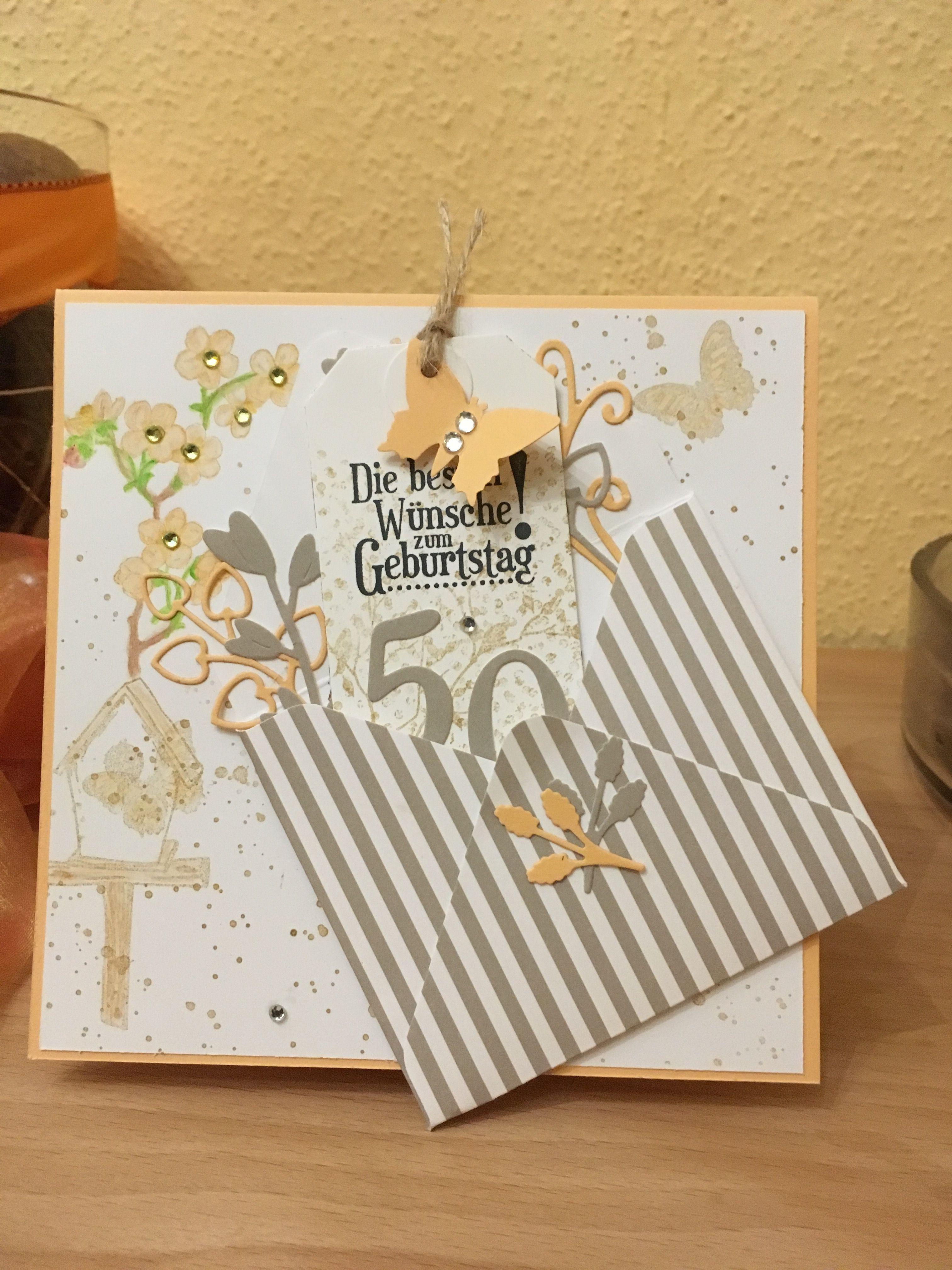 Gluckwunschkarte Zum 50 Geburtstag Geburtstag Wunsche