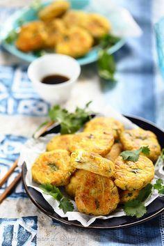 Un dejeuner de soleil: Croquettes de poisson thaïlandaises
