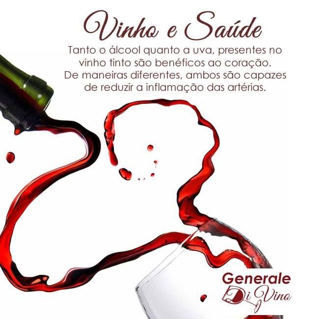 O vinho faz muito bem ao coração <3