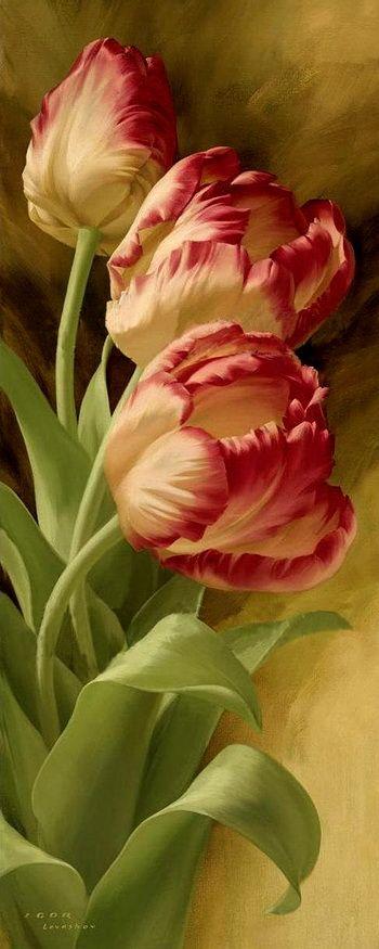 Por Amor al Arte: Las flores de Igor Levashov.                                                                                                                                                      Más