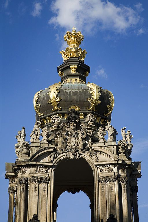 Kronentor Or Crown Gate Zwinger Dresden Germany Dresden French Exterior Dresden Germany