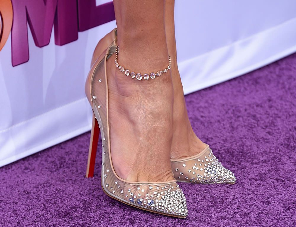 christian louboutin follies strass purple