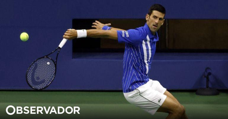 Us Open Djokovic Vence Damir Dzumhur E Segue Para A Segunda Ronda In 2020 Tennis Racket Us Open Tennis