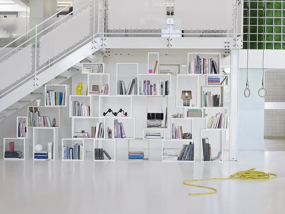 STACKED system provides a storage solution with endless possibilities.