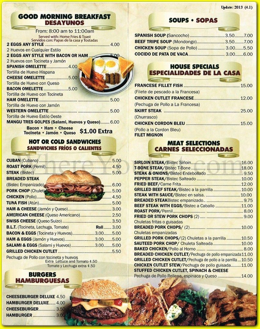 restaurant menu | menu - spanish in 2018 | pinterest | menu, menu
