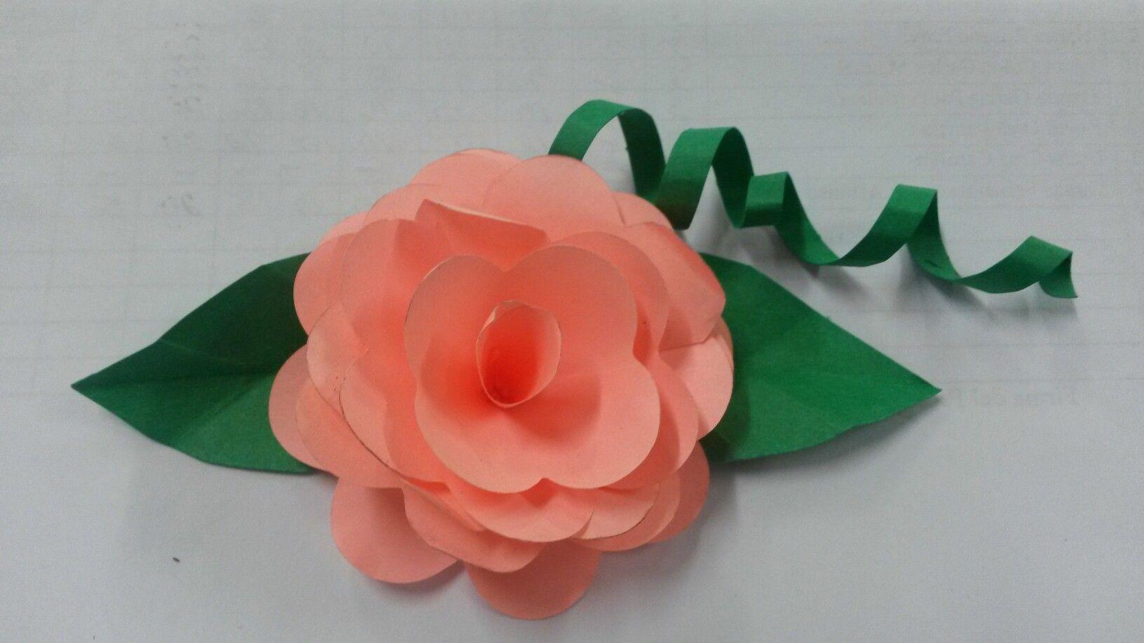 """Flor de """"post-it"""""""