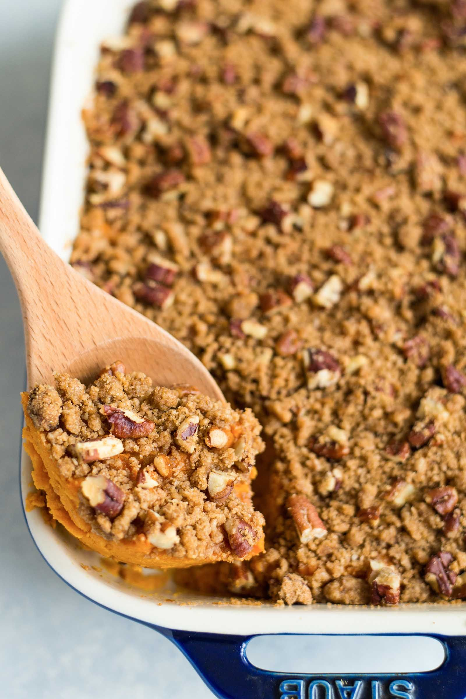 recipe: crumble topping for sweet potato casserole [39]