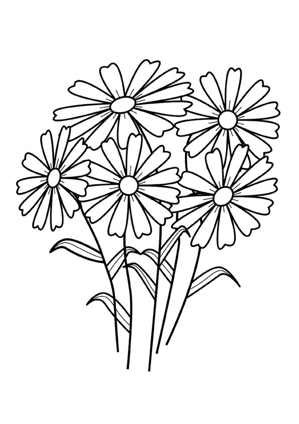 Top 35 Spring Coloring Pages Your Toddler Will Love To Color Printable Flower Coloring Pages Flower Coloring Pages Spring Coloring Pages