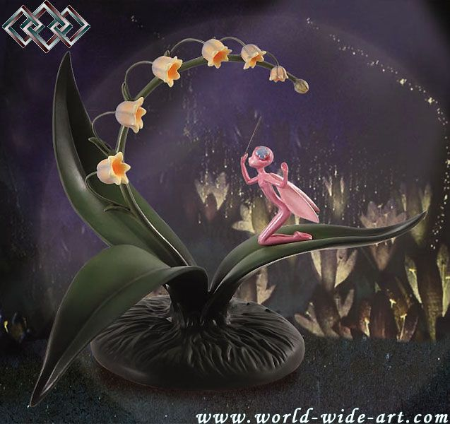 Fantasia - Lily of the Valley Fairy - The Gentle Glow of a Luminous Lily - Walt Disney Classics Collection. Image source:   http://www.world-wide-art.com/art/shpg13059415941121645ctvaid33809/framing/limage.html