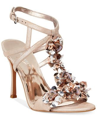 2f5fcb470a1c5 Nine West Fabour Jeweled Evening Sandals