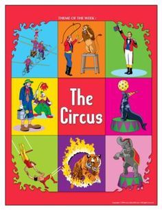 Circus, children's activities; educational games, arts and crafts, printable material. - Educatall