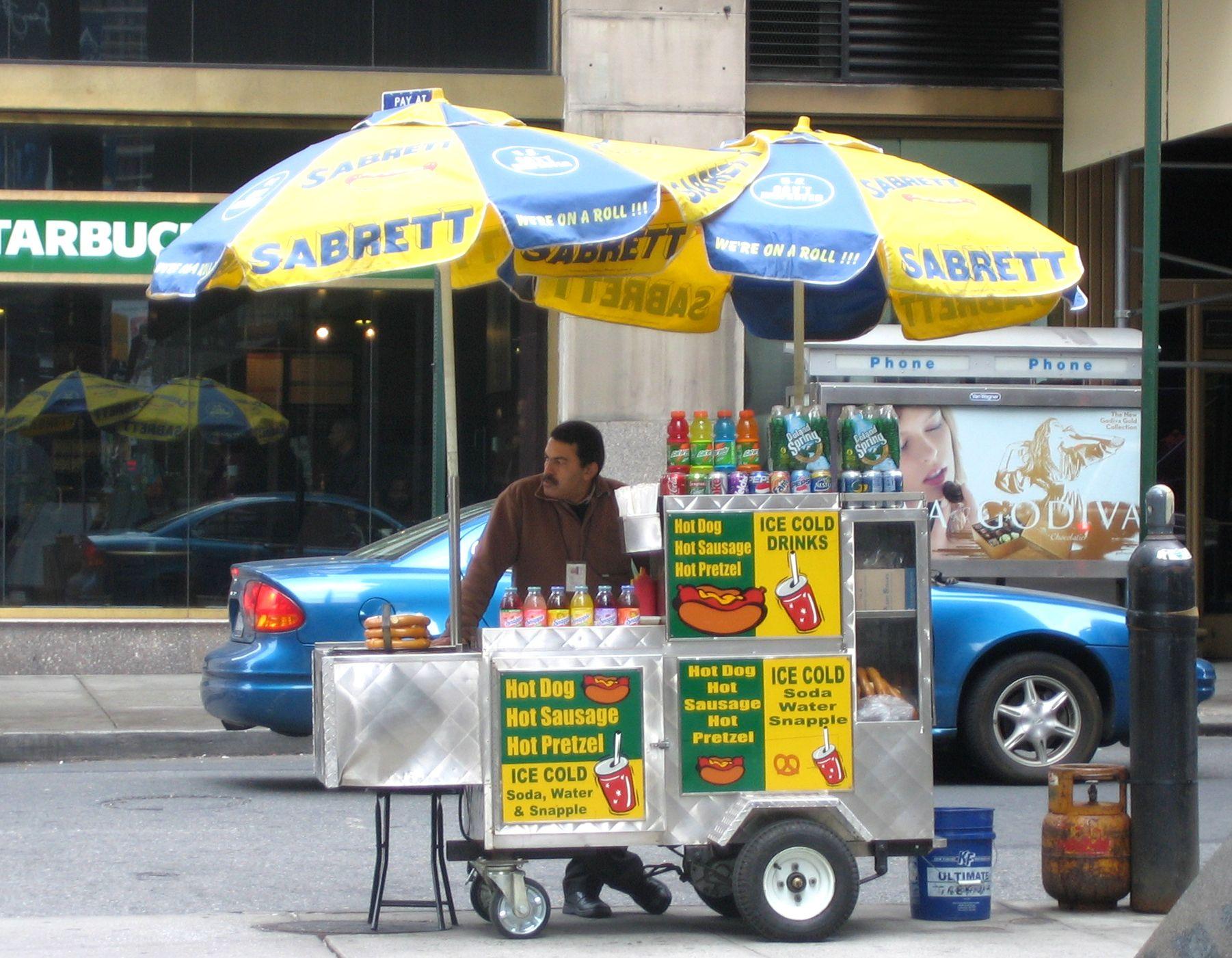 Sabrett Hot Dogs Philadelphia