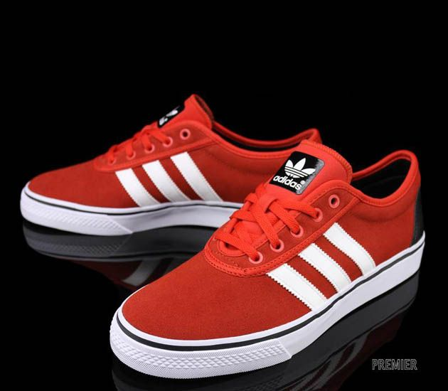 on sale 1e216 e0b21 adidas Skateboarding Adi Ease-Vivid Red-White