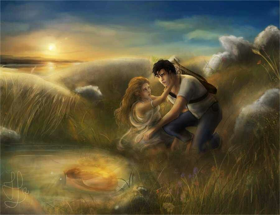 narcissus and echo fall in love percy jackson narcissus and echo they re the moa version of themselves here on the great salt lake i love drawing backgrounds c hope you like mark of athena and a