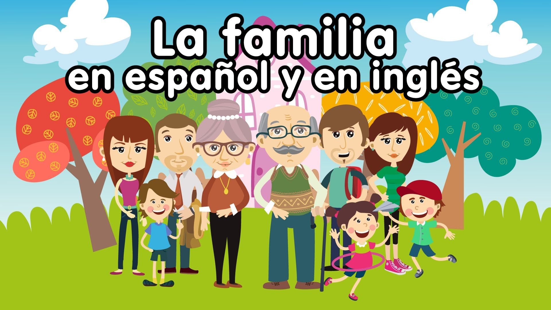 Canción de la familia en inglés y es español - Canciones ...