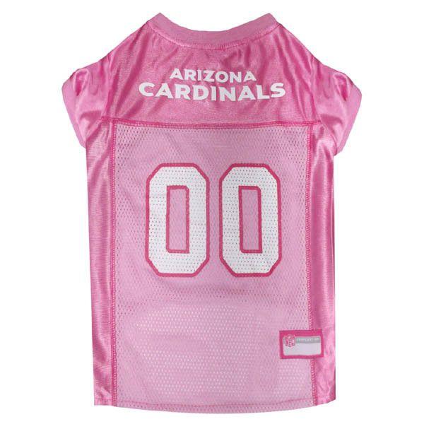 c222200fd03a Arizona Cardinals Pink Dog Jersey