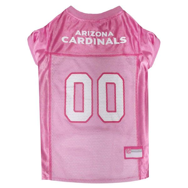 69b7dd00e681 Arizona Cardinals Pink Dog Jersey