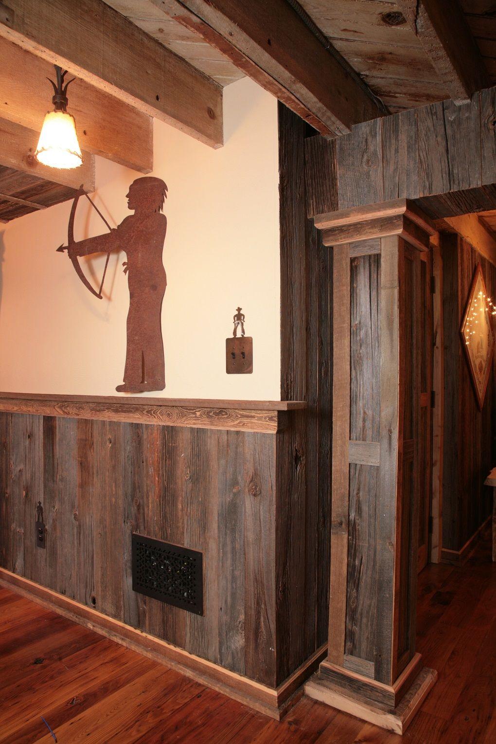 Grey Barn Board With Brown Siding Trim Http Www Woodboardsandbeams