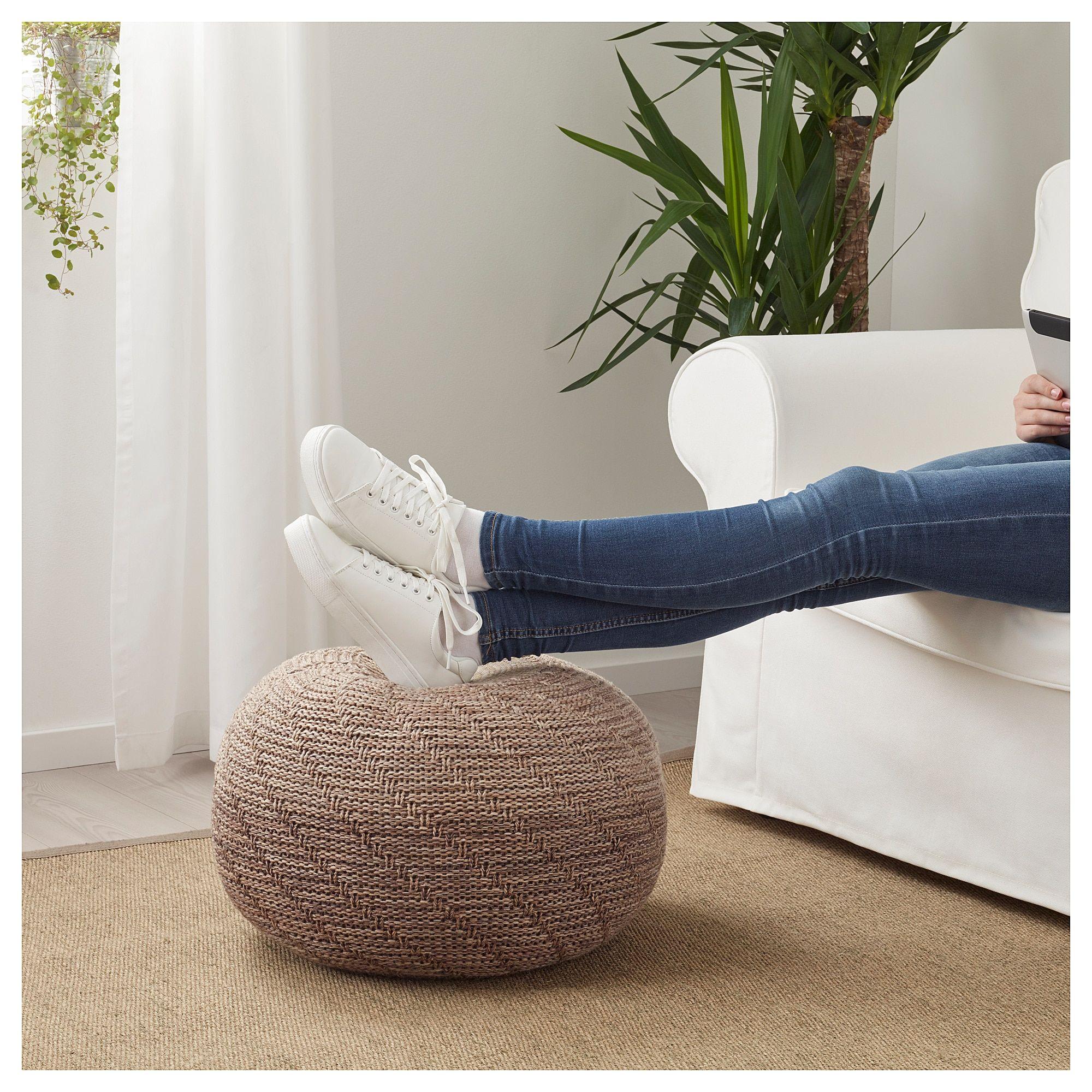 Sitzkissen Pouf Ikea