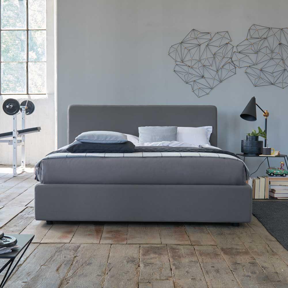 Polsterbett Auch Mit Bettkasten Daily Baumwollbezug