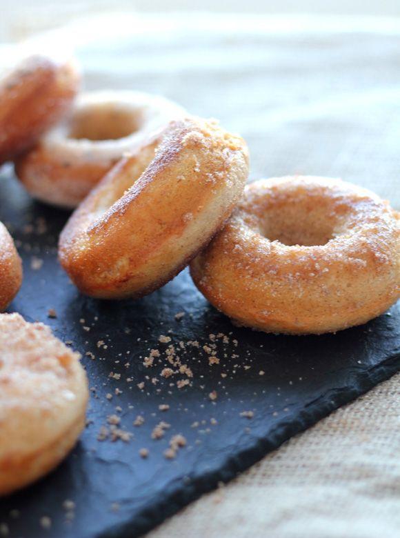 Vanilla Cinnamon Sugar & Buttermilk Baked Donuts via ...