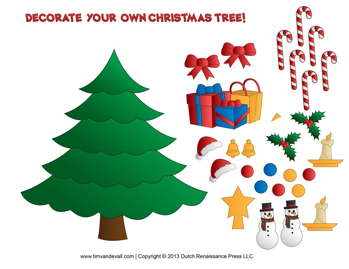 4 Images of Printable Christmas Crafts For Toddlers | 1117 ...