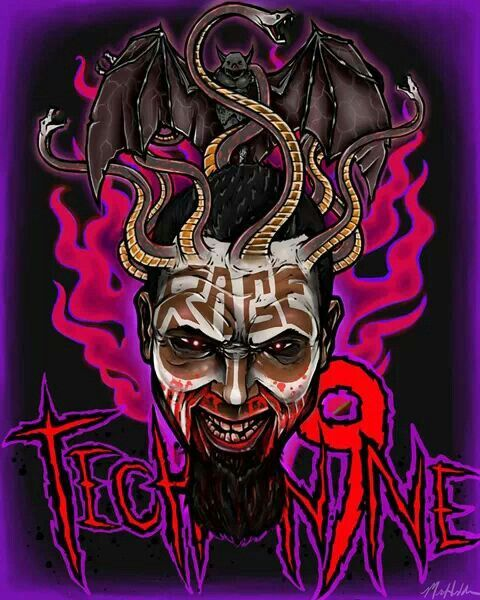 Sick Tech N9ne I Like This Picture A Lot Especially Since They Have The Strange Music Symbol Incorporated In It Tech N9ne Strange Music Tech