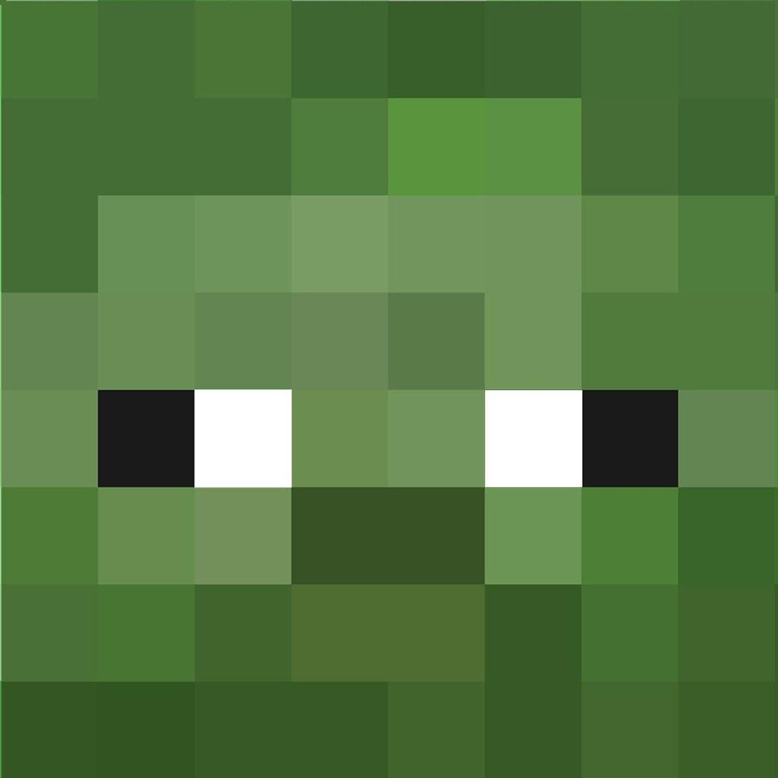 Zumbi Minecraft  Desenhos minecraft, Aniversário minecraft, Minecraft