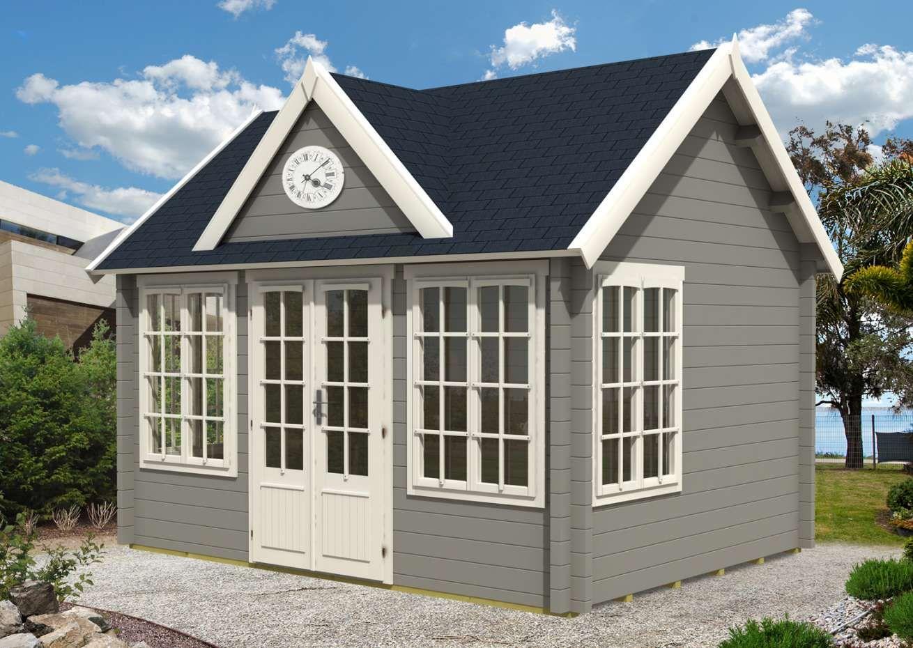 Gartenhaus Clockhouse 44 Royal Iso To332 Gartenhaus Haus Gartenhaus Kaufen