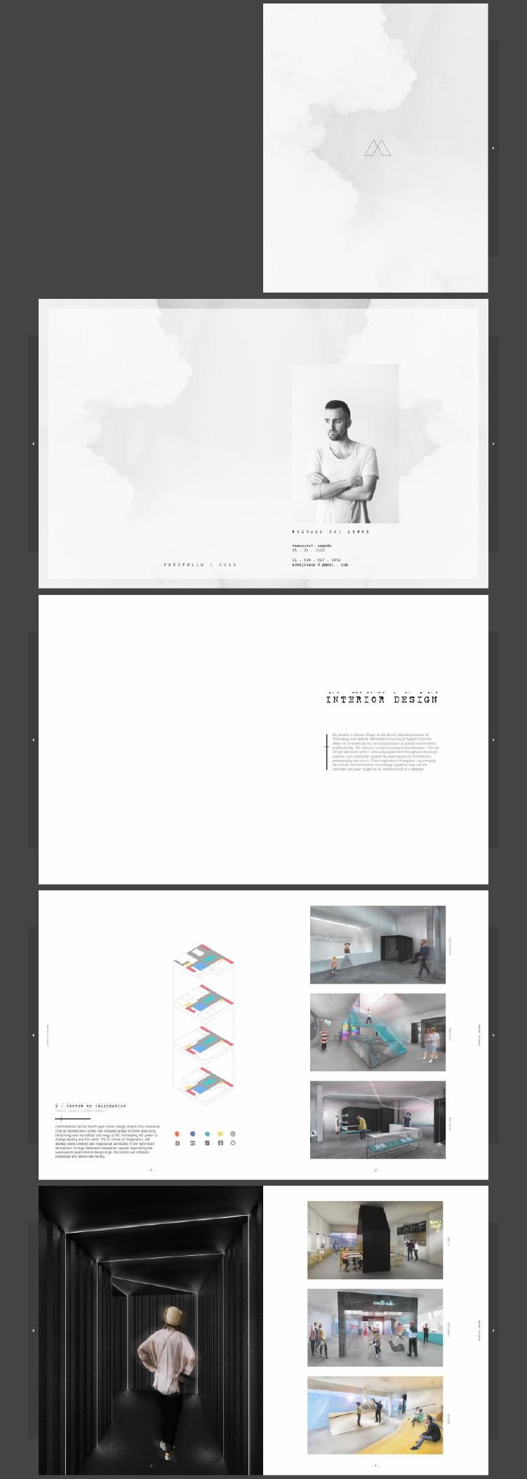Design portfolio online portfolios examples portfolio - Online portfolio interior design ...