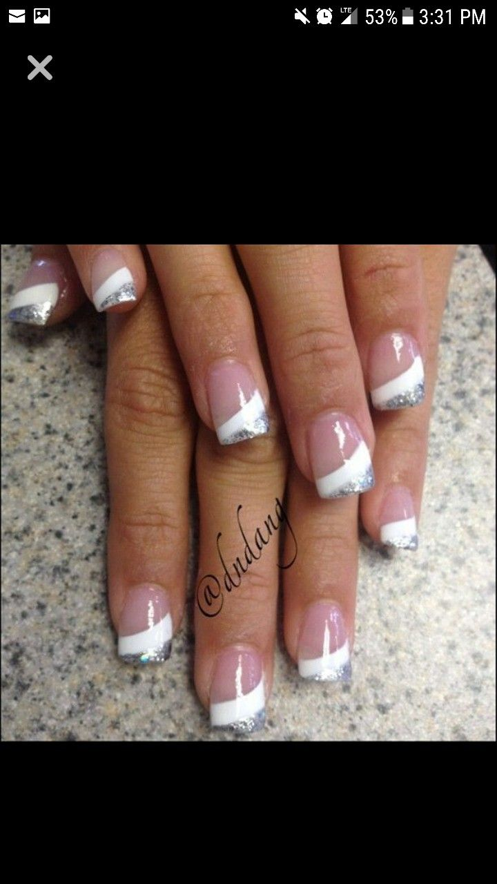 Pin By Tabetha Branch On Nails Unghie Idee French Unghie Unghie