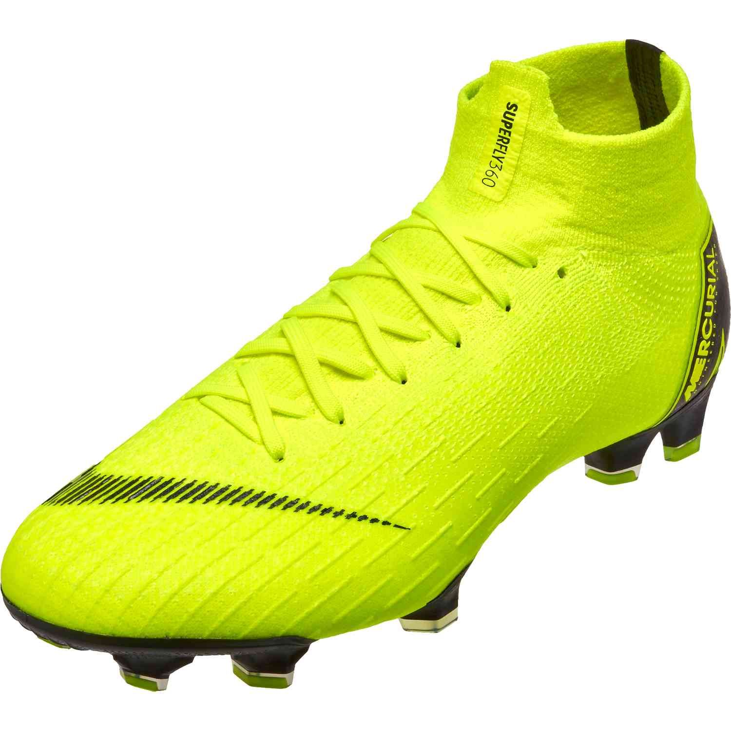 online store 4e84e 3d0bf Nike Mercurial Superfly 6 Elite FG – Volt/Black | Steals and ...