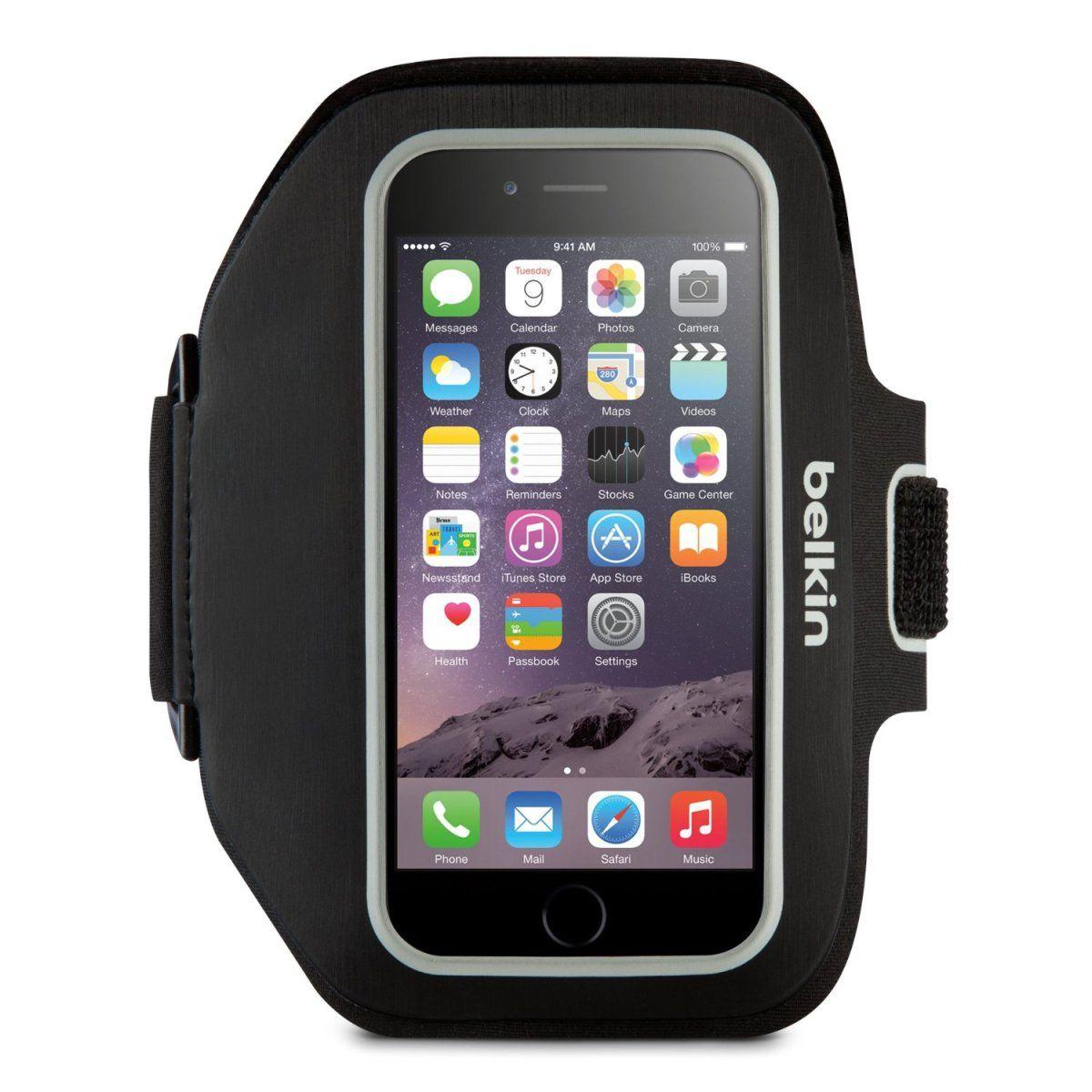 Belkin SportFit Plus Armband for iPhone 6/6S, 7, 8 (Black