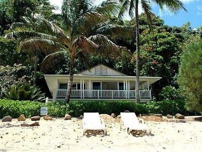 Anini Beach Vacation Al Vrbo 12189 2 Br North S House In Hi Private Beachfront On 1 Acre Sd