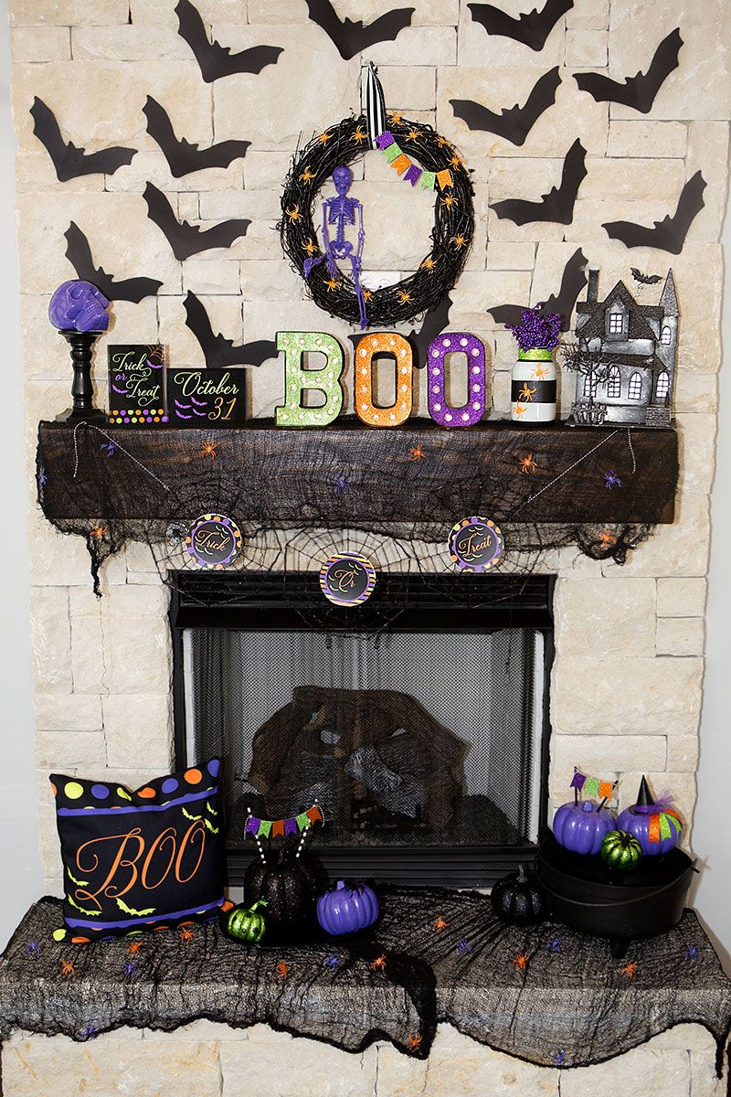 Boo Halloween Marquee by Lillian Hope Designs using @heidiswapp's Marquee Love…