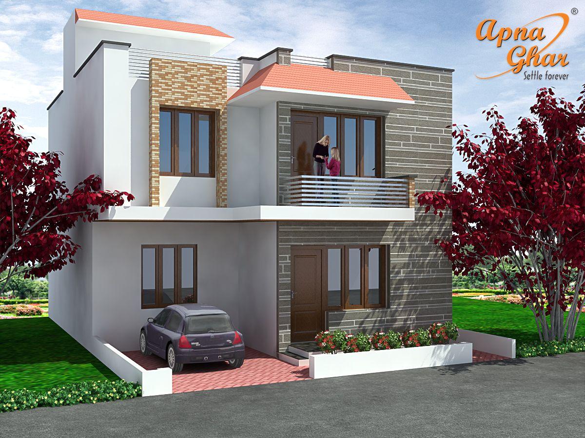 3 Bedrooms Duplex House Design In 117m2 9m X 13m Click