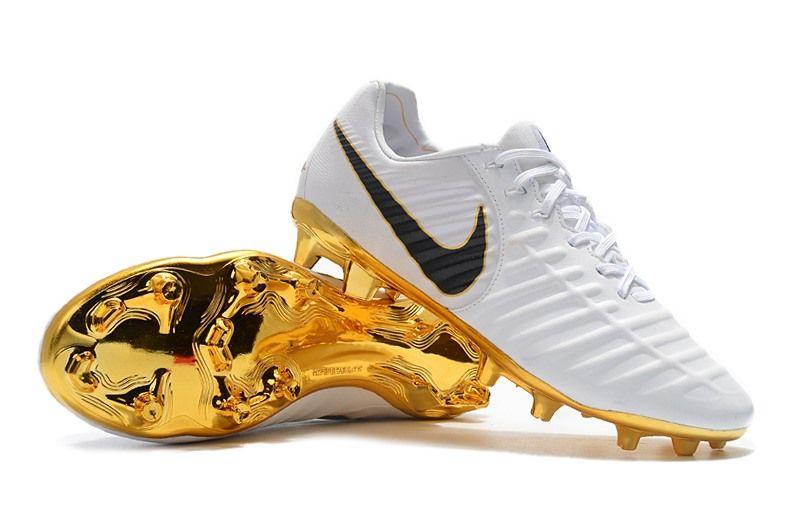 un acreedor Rocío Necesitar  Botas de Nike Tiempo Legend 7 FG ACC Blanco Oro | Botas de futbol nike,  Zapatos de fútbol, Botas de futbol