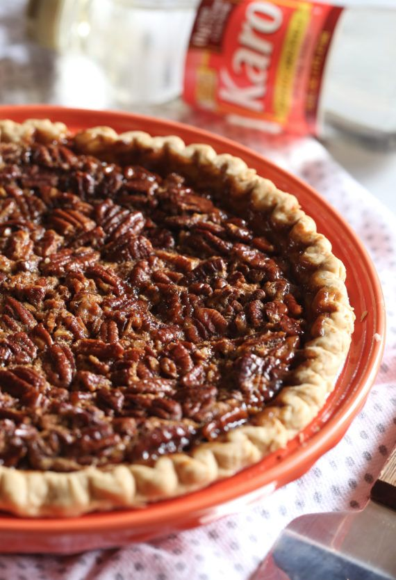 This Classic, Easy Pecan Pie Recipe is a pie recipe you will love to serve! So good on it's own or topped with ice cream! #cookiesandcups #becomeabetterbaker #pie #pecanpie #easy #recipe #pecanpierecipe