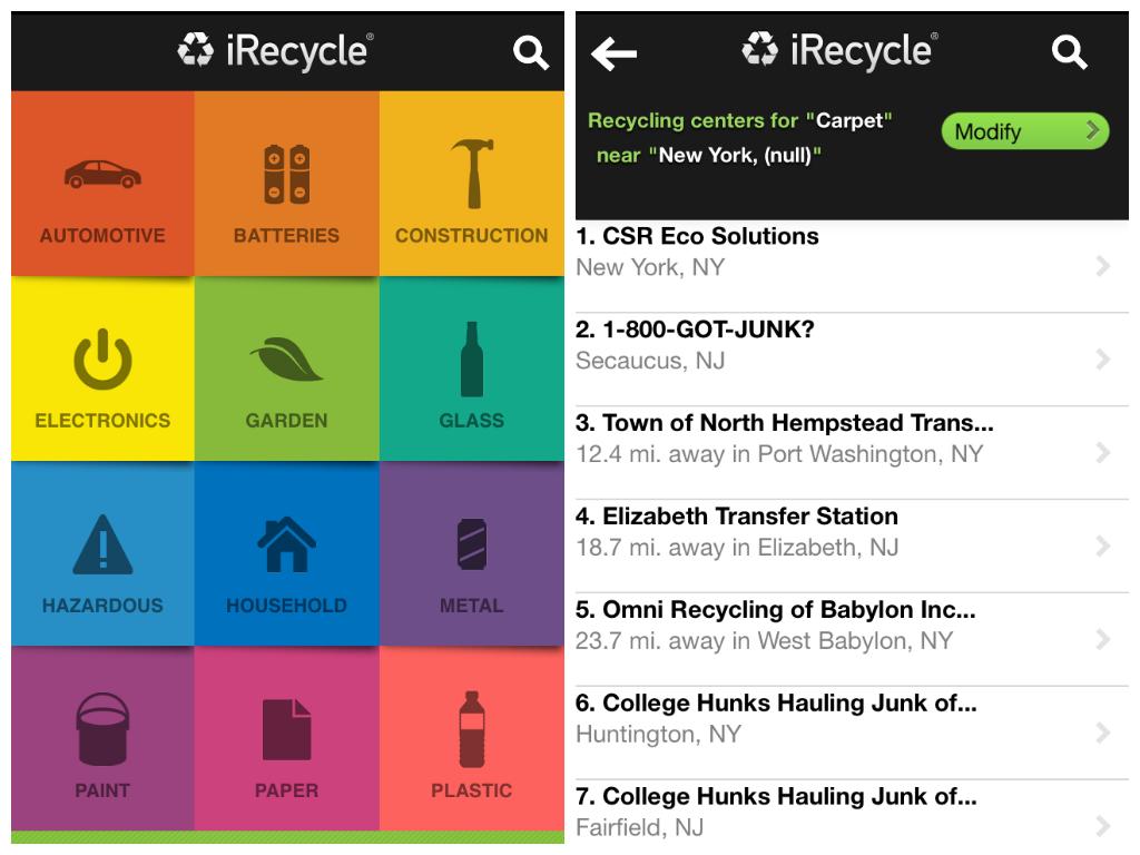 Recycling Design App Google Search App Design Secaucus Recycling