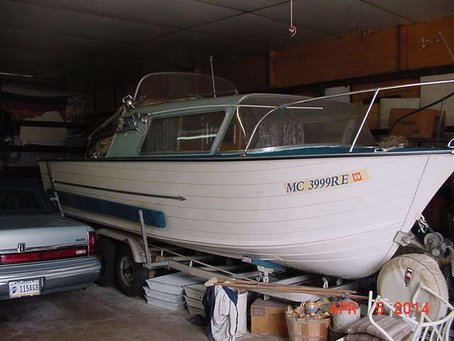 Classic 21' Boat 1963 STARCRAFT CHIEFTAIN Cabin Cruiser ...