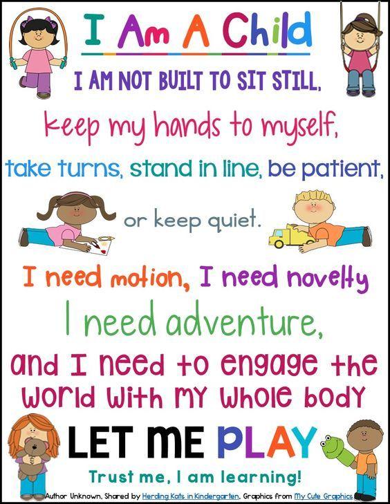 Image result for preschool best practice poster | preschool ...