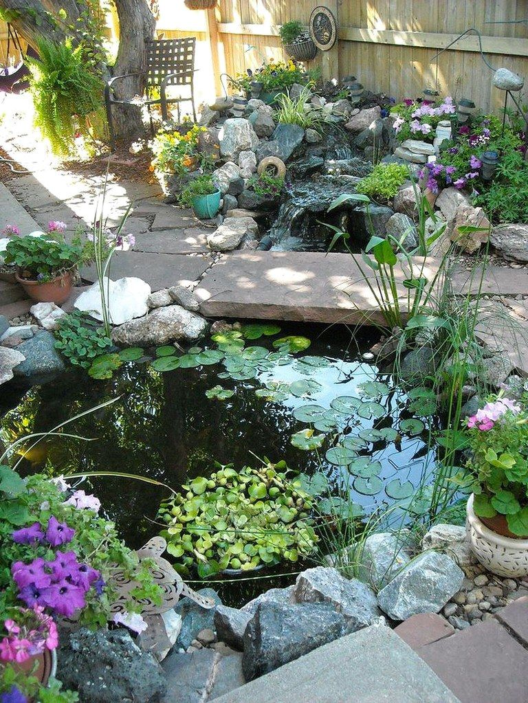 50 Inspiring Ideas Backyard Ponds and Water Gardens (39 ...
