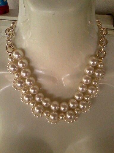 25e786df5df5 Image result for diy collar de perlas y piedras swarovski   creative ...