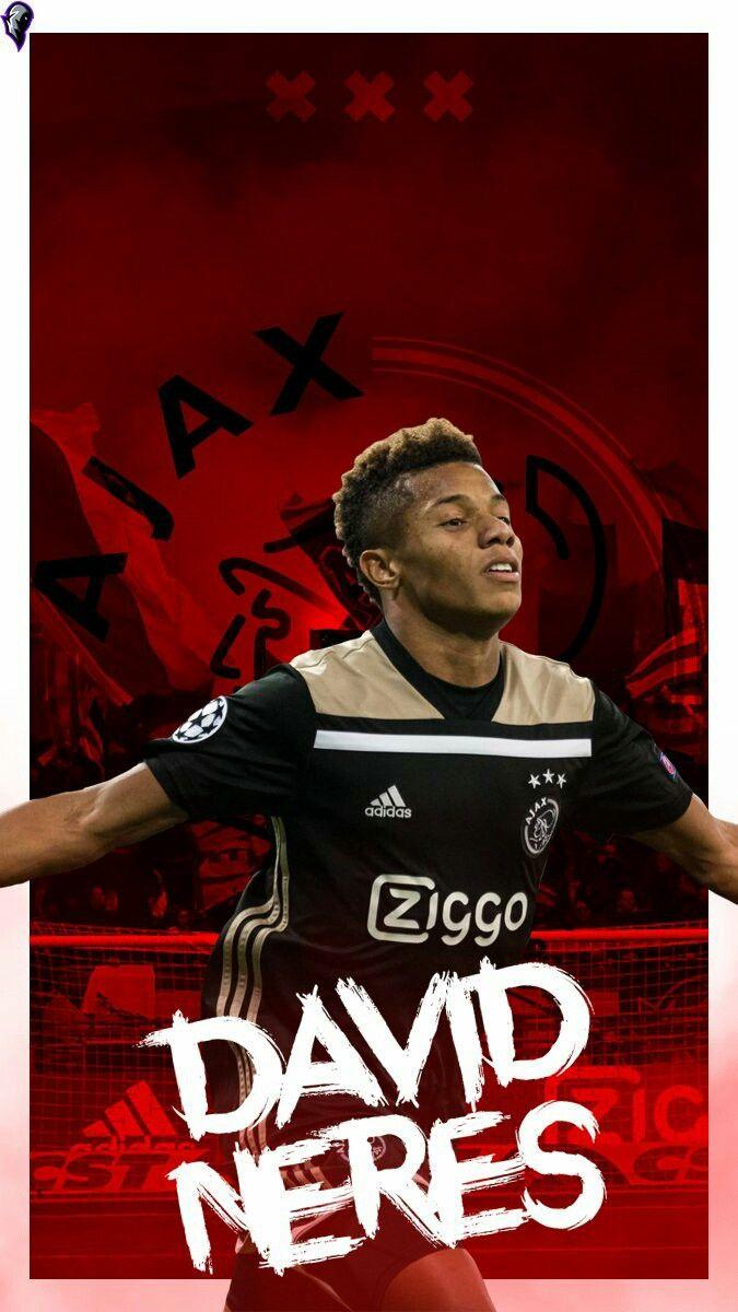 David Neres Afc Ajax Voetbal Posters Voetbal Voetballers
