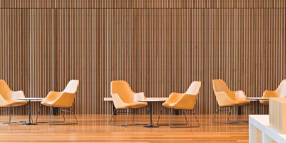 Wood Slats Holzwand Sperrholz Wande Deckenpaneele